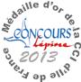 Médaille d'or concours Lépine 2013