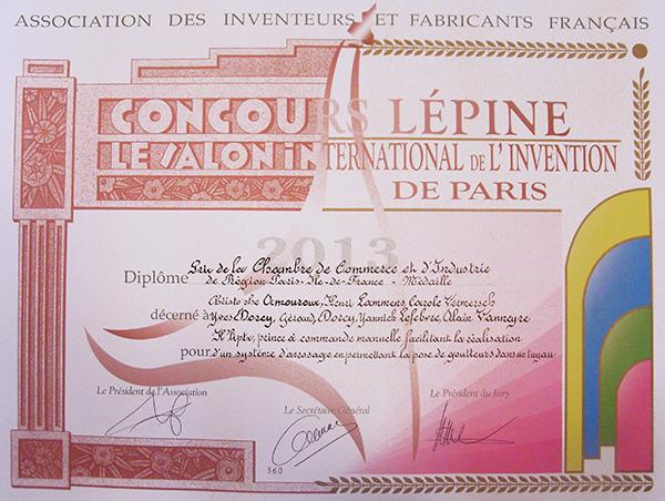 Lauréat du prix Truffaut 2013