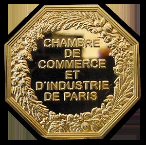 Médaille d'or de la Chambre des Commerces et Industries d'Ile de France Concours Lépine 2013